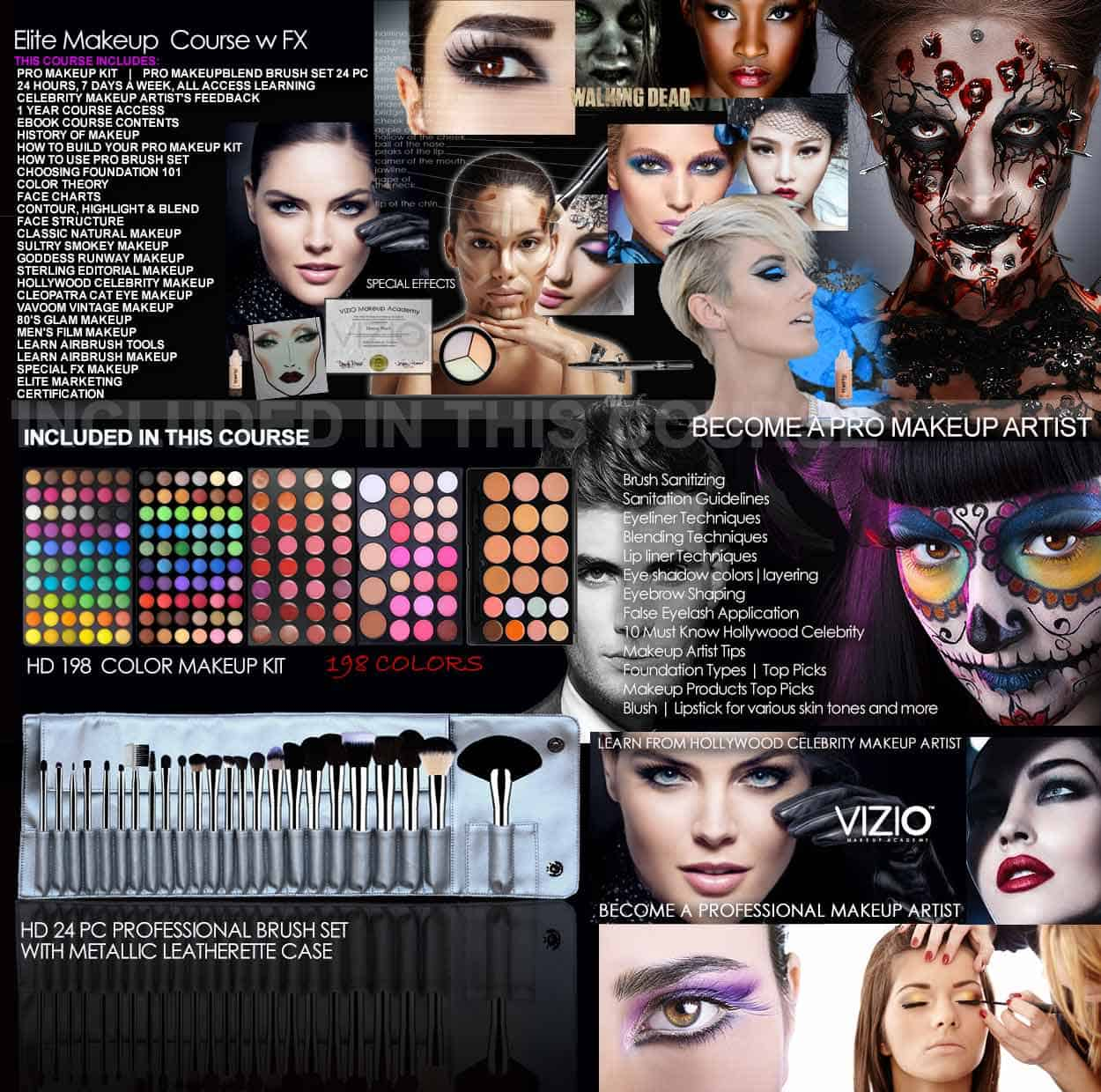 Elite Makeup Course With Fx Special Effects Makeup Online