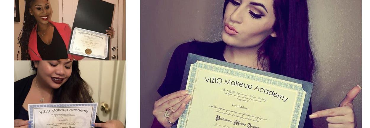 makeup certification artist certificate certified