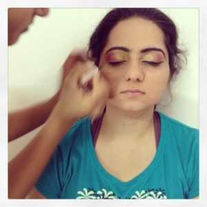 Bangalore maquillaje Escuela artista