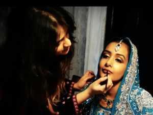 Hyderabad maquillaje Escuela artista