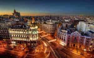Madrid Spain Makeup School