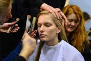 Milán Italia Escuela artista de maquillaje