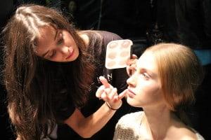 Roma Italia Escuela artista de maquillaje