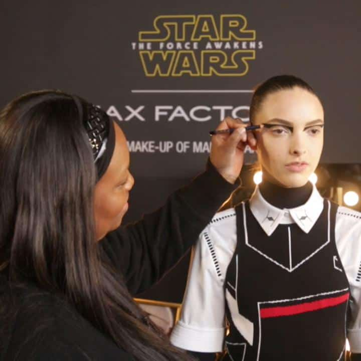 STAR WARS MAKEUP