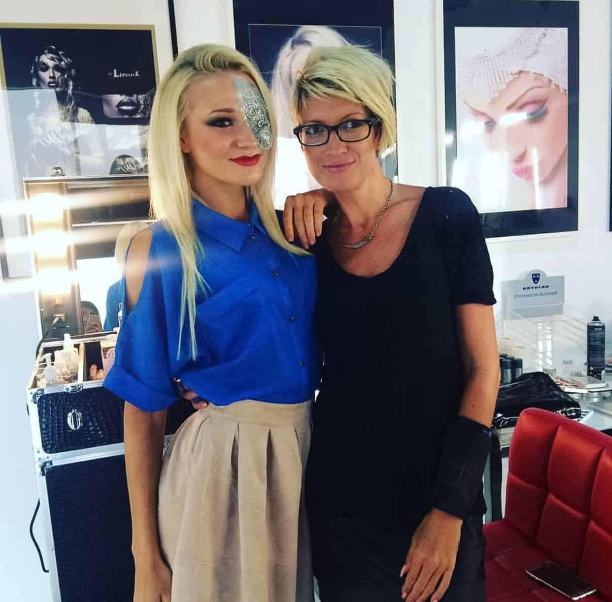 Vizio Makeup Academy Student Livia Rideg